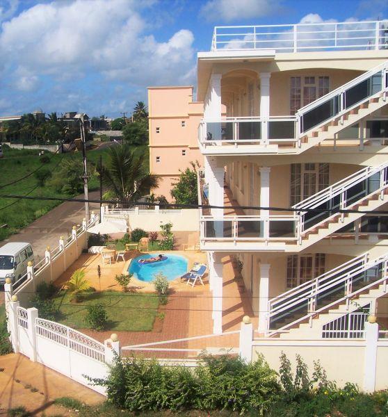 Pianta casa vacanze Affitto Appartamento 48721 Pointe Aux Piments
