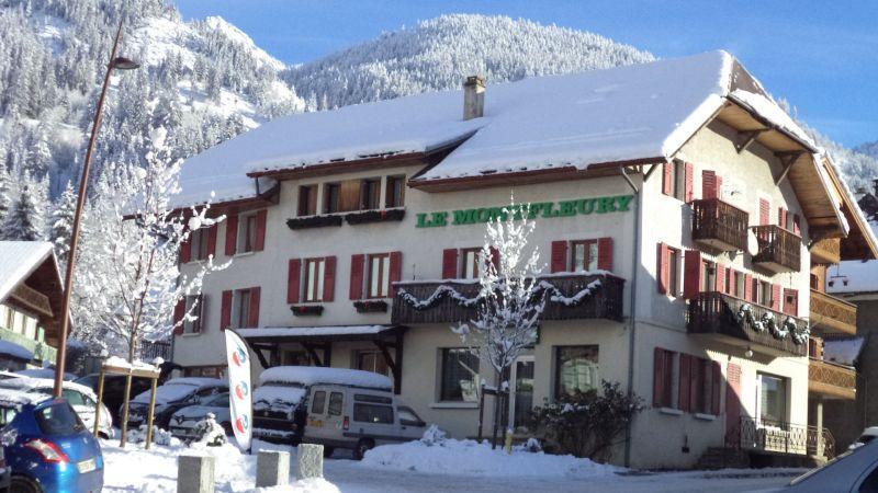 Vista esterna della casa vacanze Affitto Appartamento 48985 La Chapelle d'Abondance