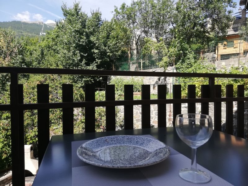 Vista dal balcone Affitto Monolocale 491 Briançon