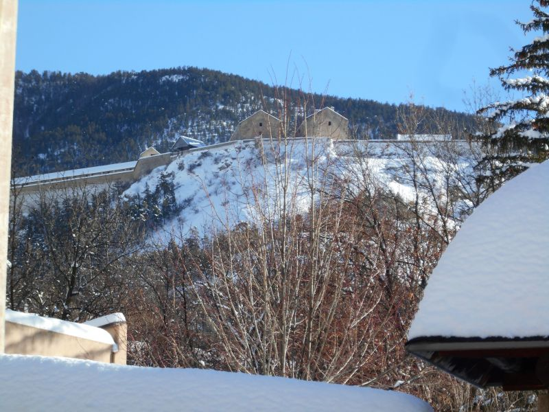Vista dal terrazzo Affitto Monolocale 491 Briançon