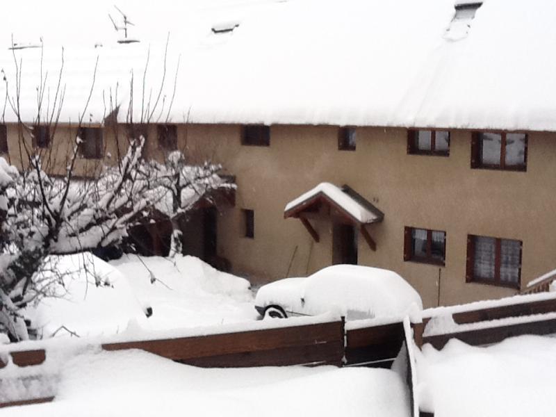 Vista esterna della casa vacanze Affitto Monolocale 491 Briançon