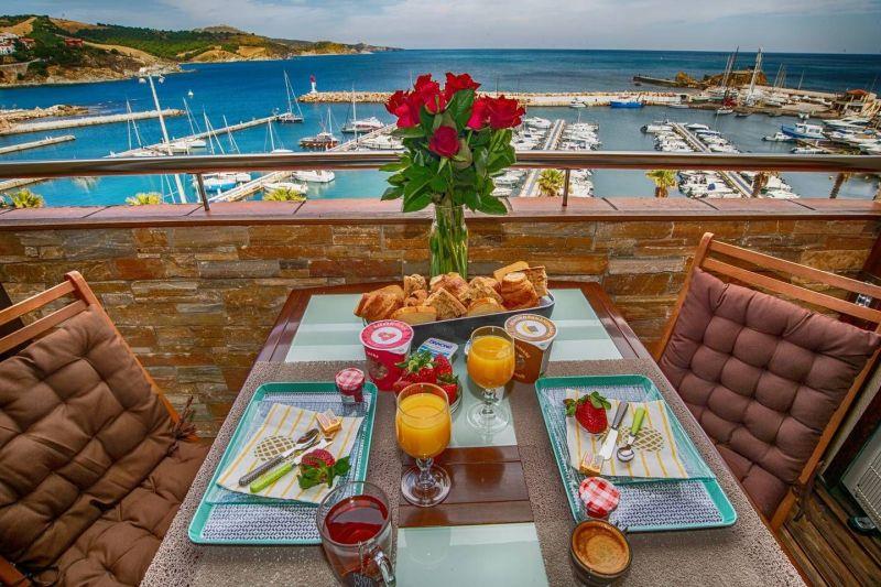 Vista dal terrazzo Affitto Appartamento 49276 Banyuls-sur-Mer
