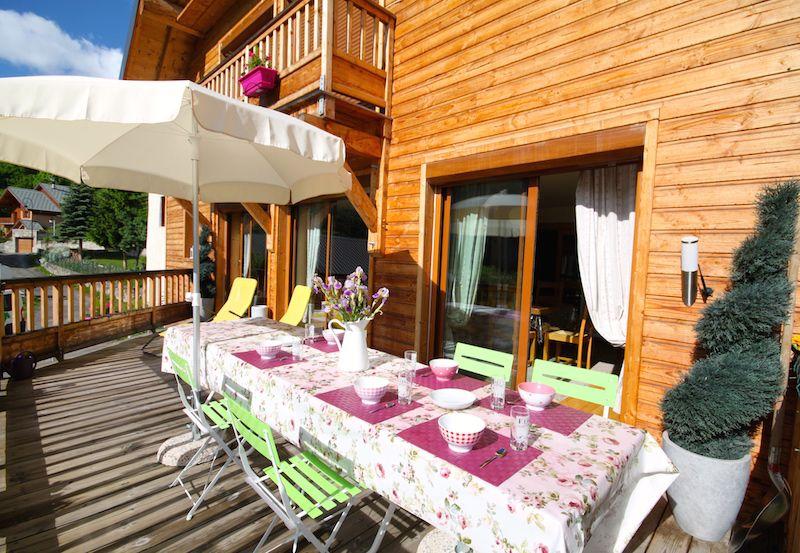 Terrazzo Affitto Chalet 49295 Valloire