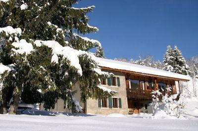 Vista esterna della casa vacanze Affitto Chalet 49656 Les Gets