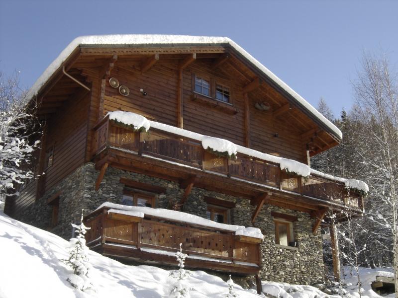 Vista esterna della casa vacanze Affitto Chalet 49981 Valfréjus