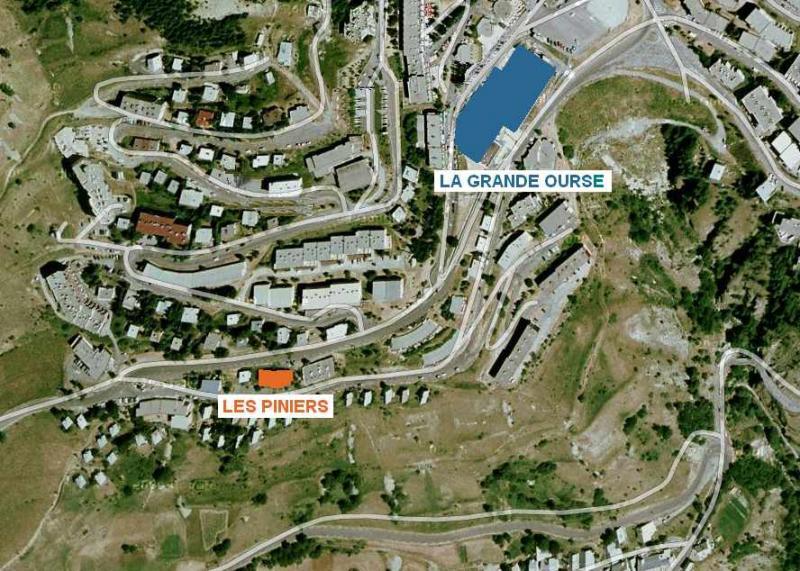 Mappa Affitto Appartamento 50329 Orcières Merlette