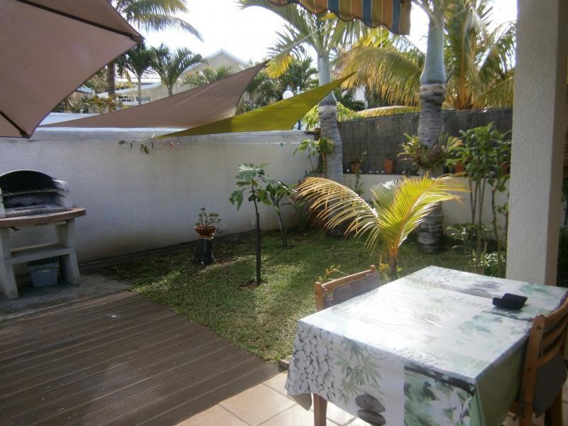 Giardino Affitto Bungalow 50449 La Saline les Bains