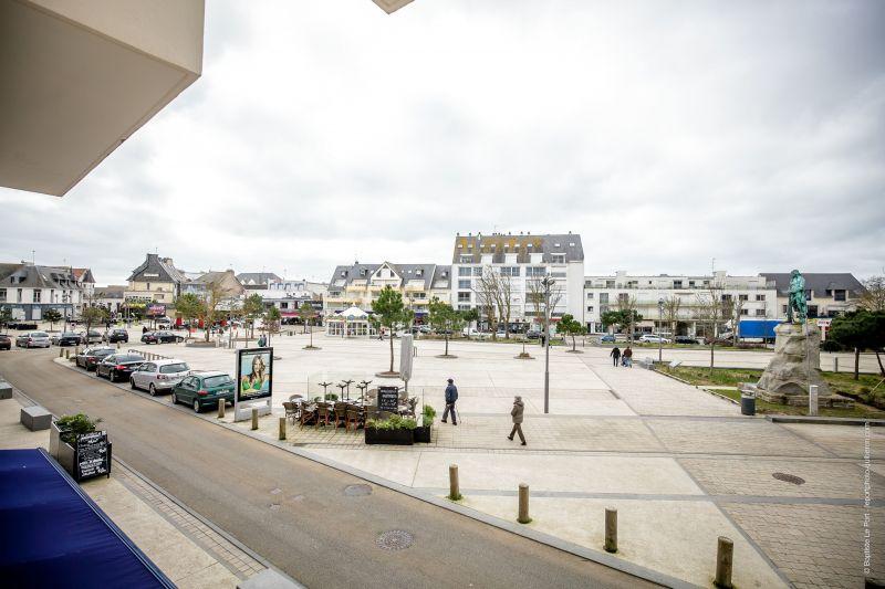 Vista dalla casa vacanze Affitto Appartamento 50989 Quiberon
