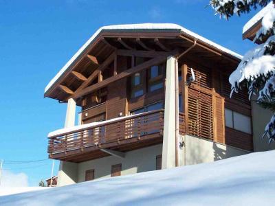 Vista esterna della casa vacanze Affitto Chalet 51041 La Plagne