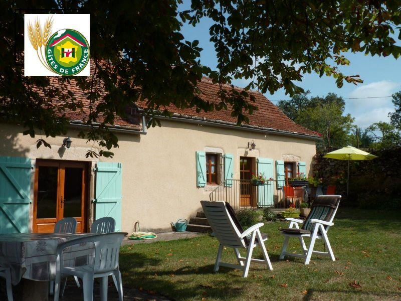 Vista esterna della casa vacanze Affitto Agriturismo 51135 Saint-Cirq-Lapopie