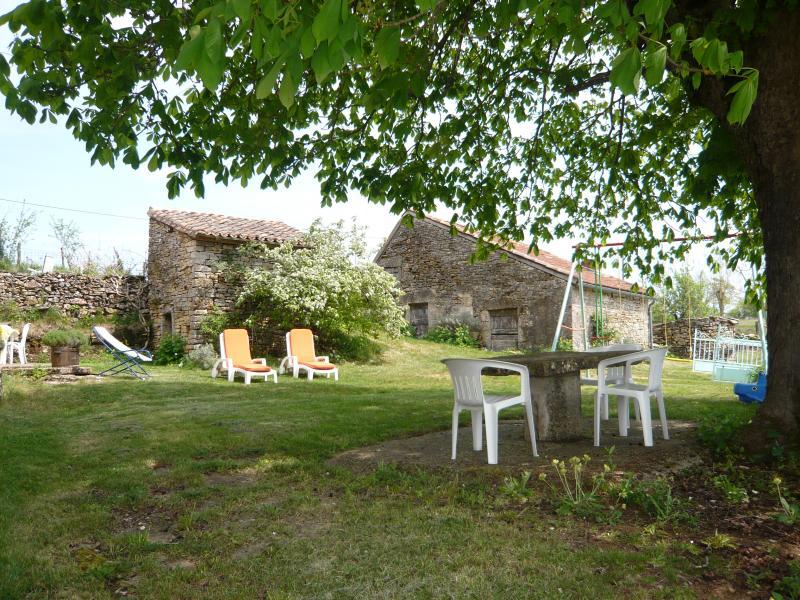 Giardino Affitto Agriturismo 51135 Saint-Cirq-Lapopie