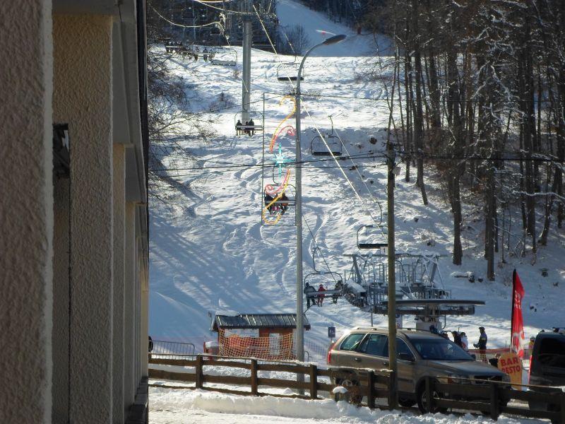 Vista dal balcone Affitto Appartamento 527 Ancelle