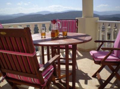 Vista dal balcone Affitto Appartamento 53014 Bodrum