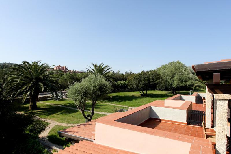 Vista dal terrazzo Affitto Appartamento 53727 Porto Rotondo