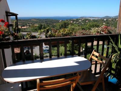Vista dal balcone Affitto Appartamento 54000 La Croix Valmer