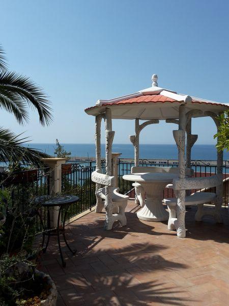 Vista dal terrazzo Affitto Villa  54358 Capo d'Orlando