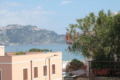 Vista dalla casa vacanze Affitto Appartamento 54384 Giardini Naxos