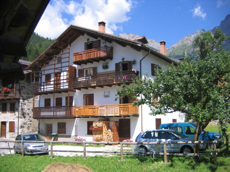 Vista esterna della casa vacanze Affitto Appartamento 55088 Falcade