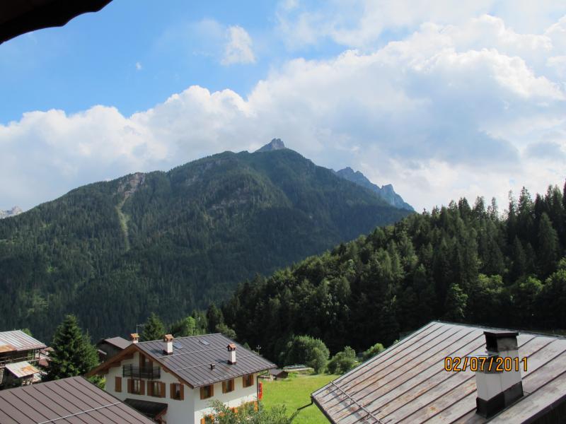 Vista dal terrazzo Affitto Appartamento 55088 Falcade