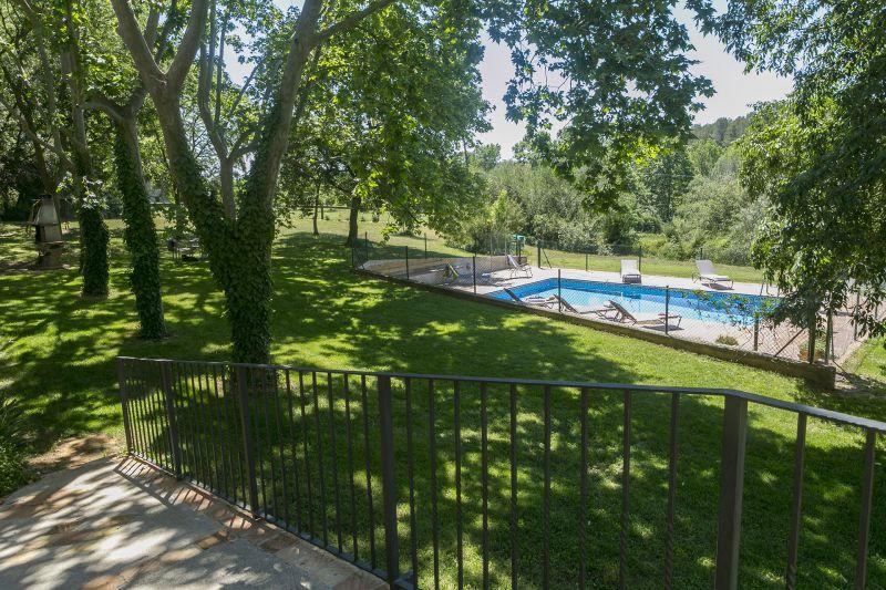 Vista dalla casa vacanze Affitto Agriturismo 55342 Figueres