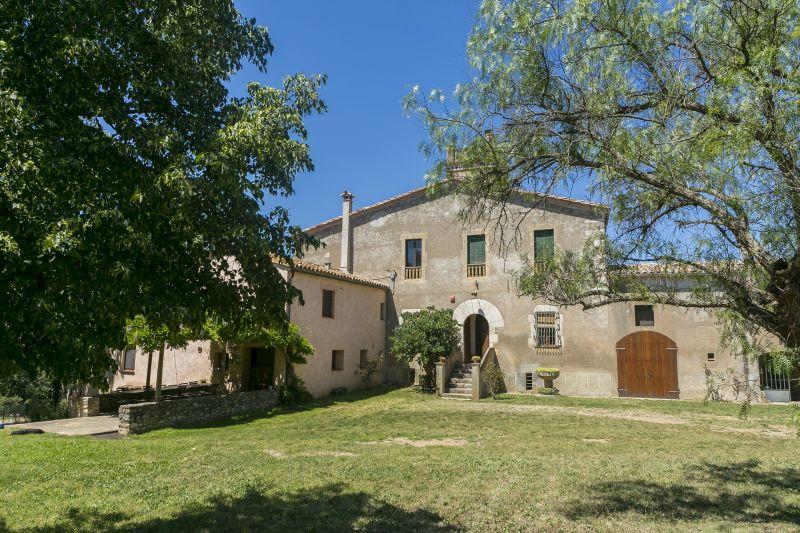 Vista esterna della casa vacanze Affitto Agriturismo 55342 Figueres