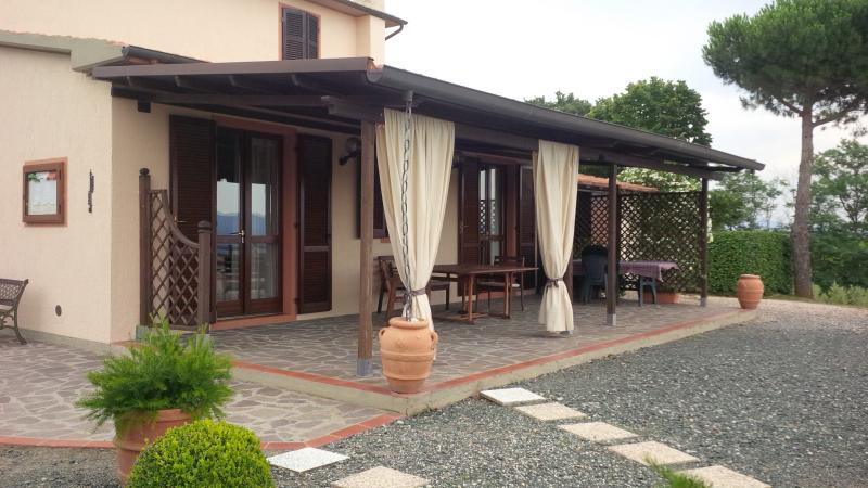 Veranda Affitto Villa  55549 Roccastrada