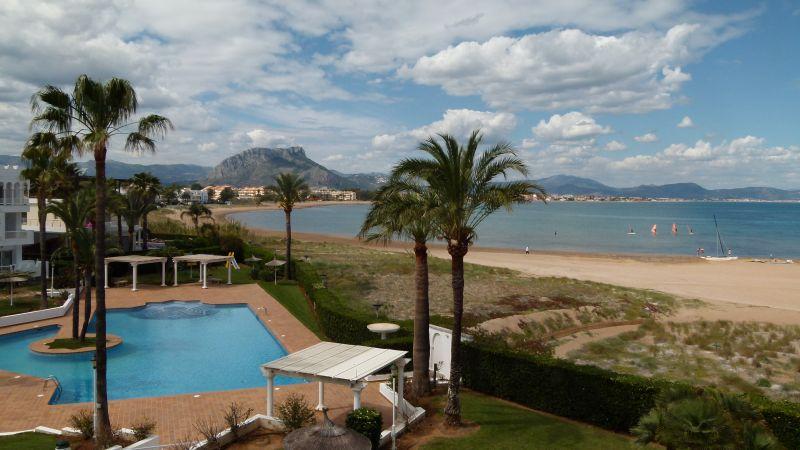Vista dal balcone Affitto Appartamento 55579 Dénia
