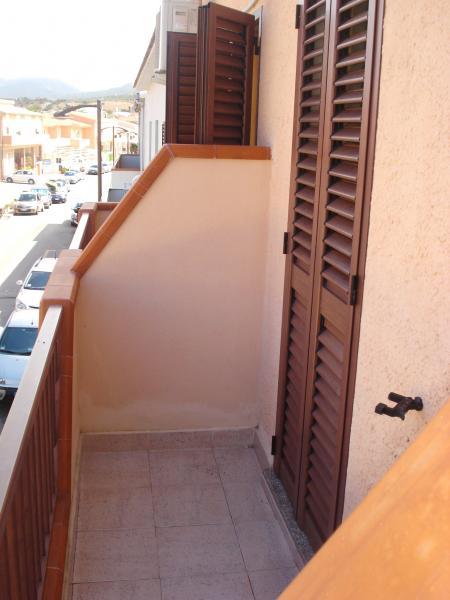 Vista dal balcone Affitto Monolocale 55748 Isola Rossa