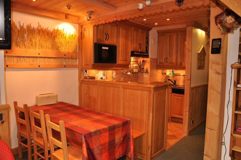 Cucina all'americana Affitto Appartamento 55934 Valmorel