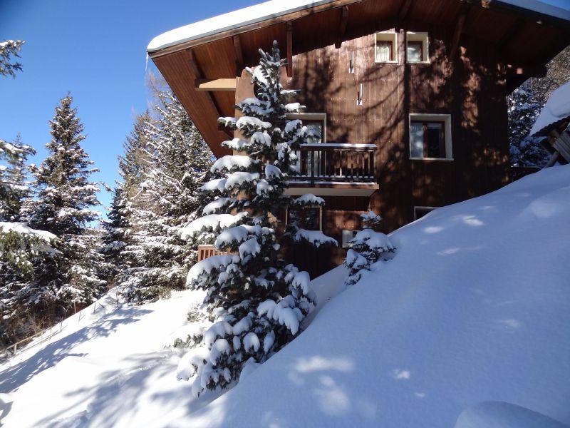 Vista esterna della casa vacanze Affitto Chalet 56090 La Plagne