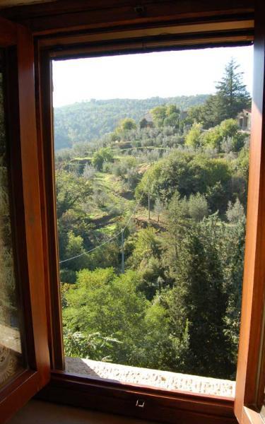 Vista dal balcone Affitto Agriturismo 57056 Arezzo