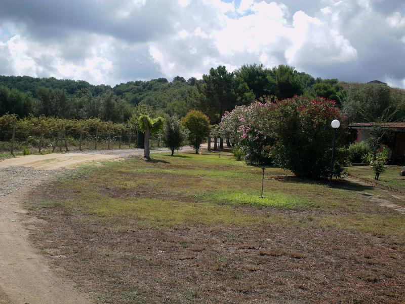 Vista esterna della casa vacanze Affitto Villa  57487 Tropea