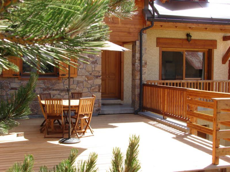 Terrazzo Affitto Chalet 57805 Monginevro