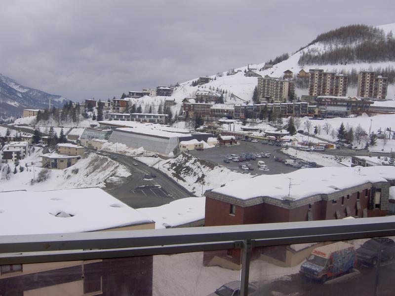 Vista dal terrazzo Affitto Appartamento 57846 Orcières Merlette