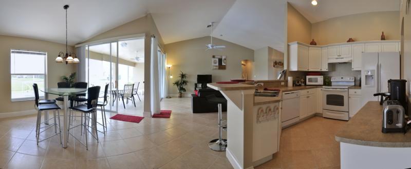 Cucina all'americana Affitto Villa  57904 Cape Coral