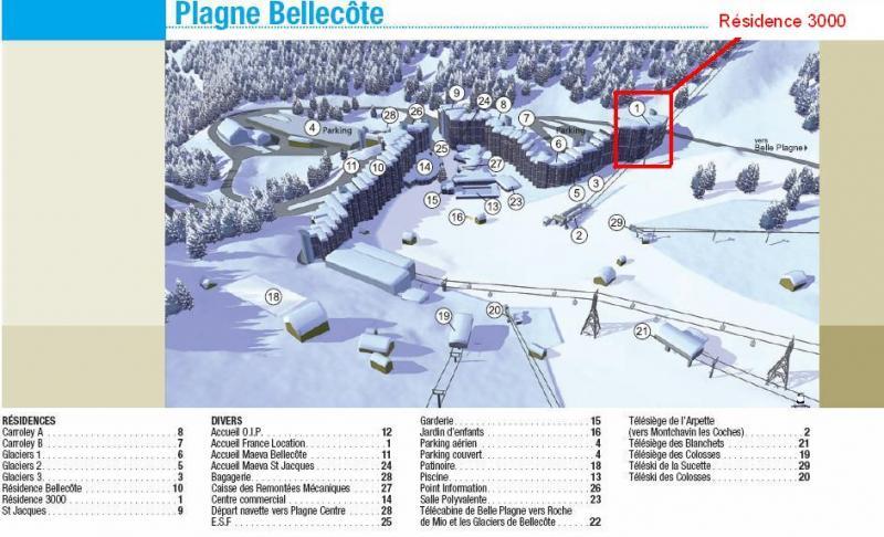 Altra vista Affitto Monolocale 57992 La Plagne