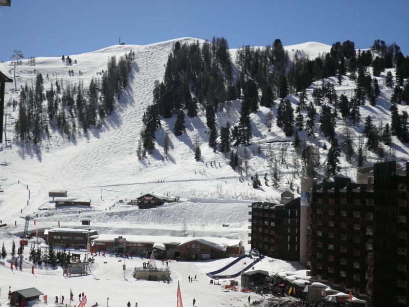 Vista dal balcone Affitto Appartamento 58207 La Plagne