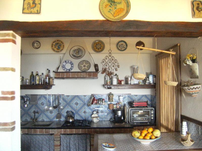 Cucina separata Affitto Villa  58328 Scopello