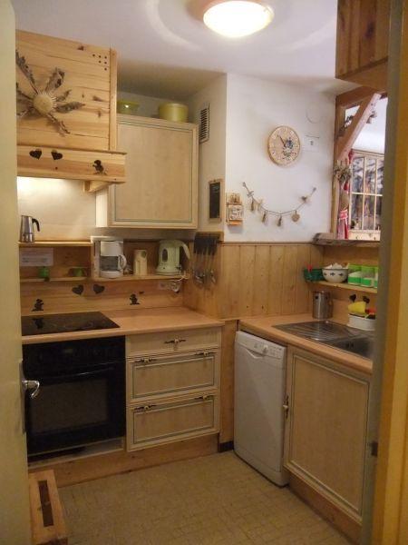 Cucina separata Affitto Appartamento 58808 Le Sauze