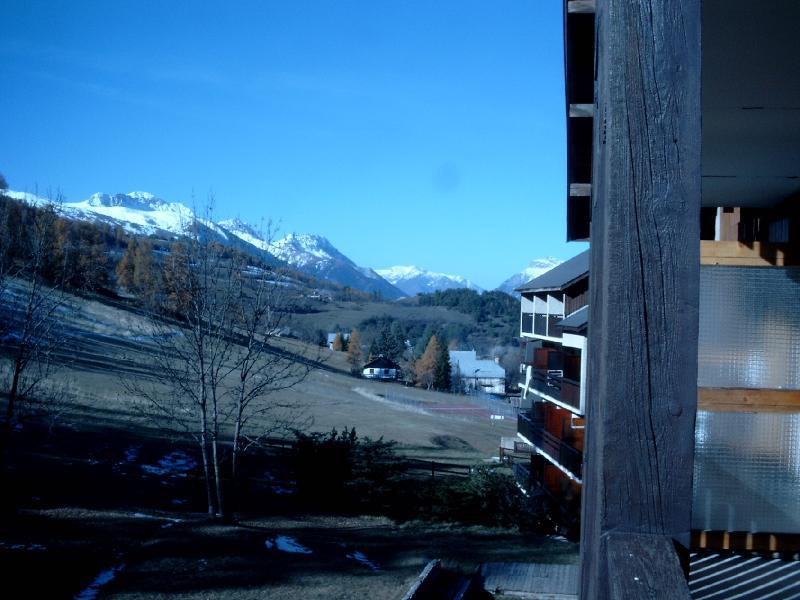 Vista dal balcone Affitto Appartamento 58808 Le Sauze