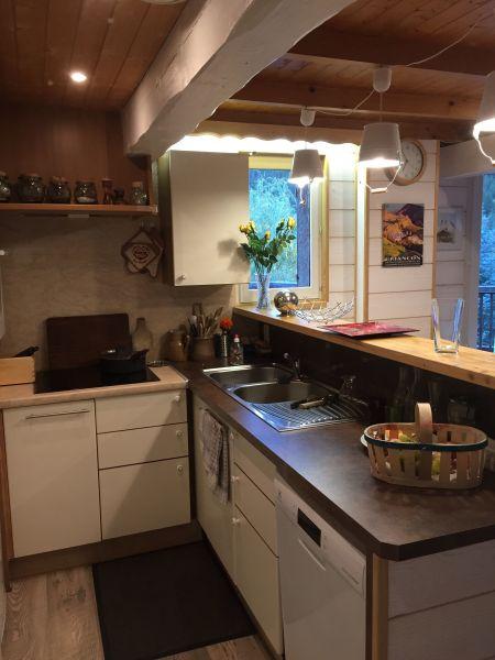 Cucina all'americana Affitto Appartamento 58839 Serre Chevalier