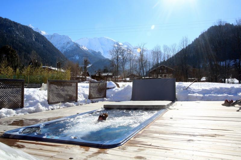 Vista dalla casa vacanze Affitto Appartamento 59034 Saint Gervais Mont-Blanc