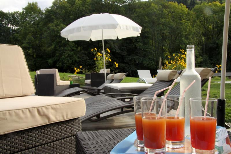 Giardino Affitto Appartamento 59034 Saint Gervais Mont-Blanc