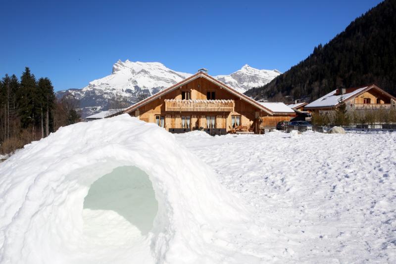 Vista esterna della casa vacanze Affitto Appartamento 59034 Saint Gervais Mont-Blanc