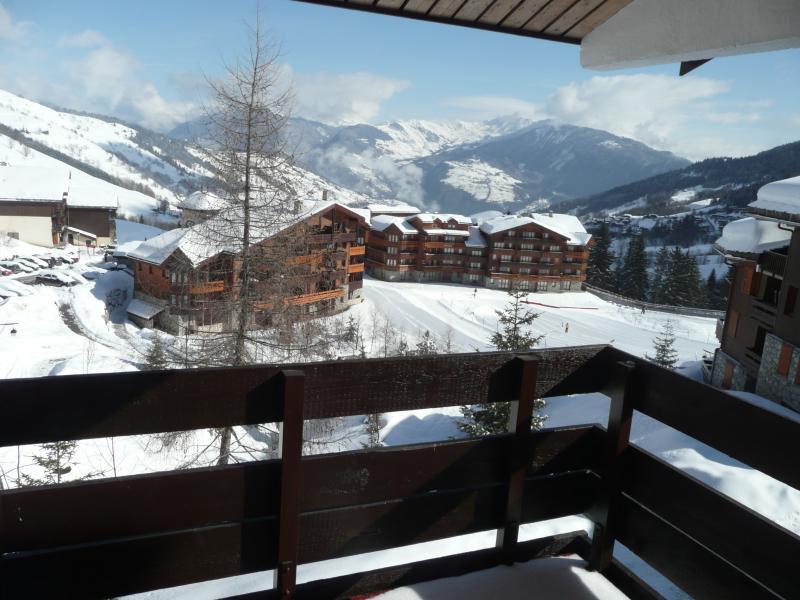 Vista dal balcone Affitto Appartamento 59108 Valmorel