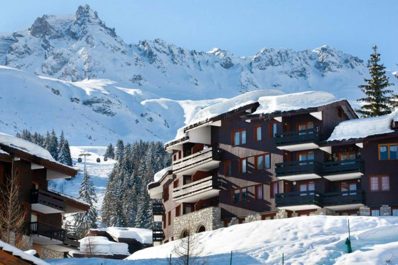 Vista esterna della casa vacanze Affitto Monolocale 59132 Valmorel