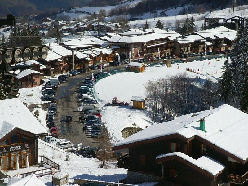 Vista dal balcone Affitto Monolocale 59132 Valmorel