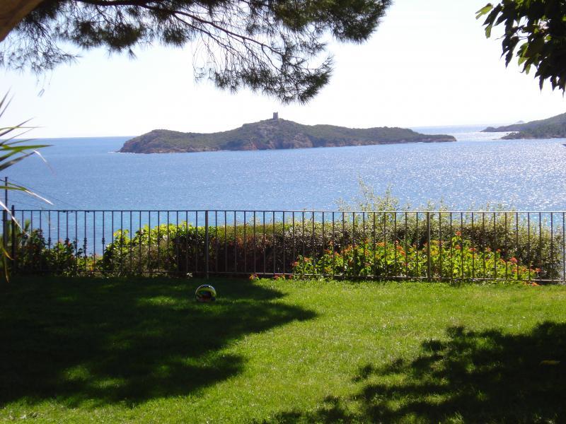 Vista dalla casa vacanze Affitto Villa  59191 Sainte Lucie de Porto Vecchio