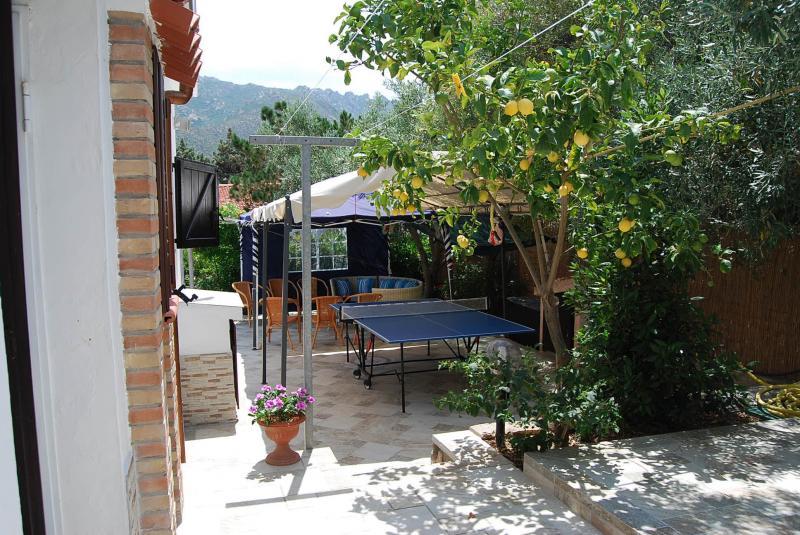Vista esterna della casa vacanze Affitto Villa  59840 Villasimius