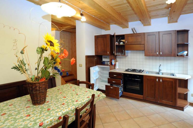 Cucina all'americana Affitto Appartamento 59884 Rimasco